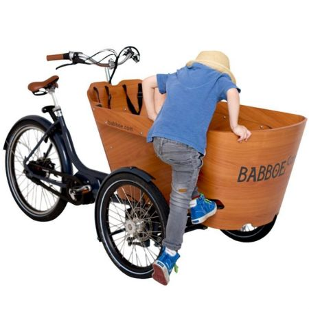La Station du vélo 59 - cargo carve mountain babboe