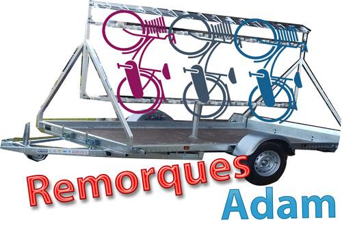 Remorque Adam - Remorque pour le transport de vélo à Saint-Malo
